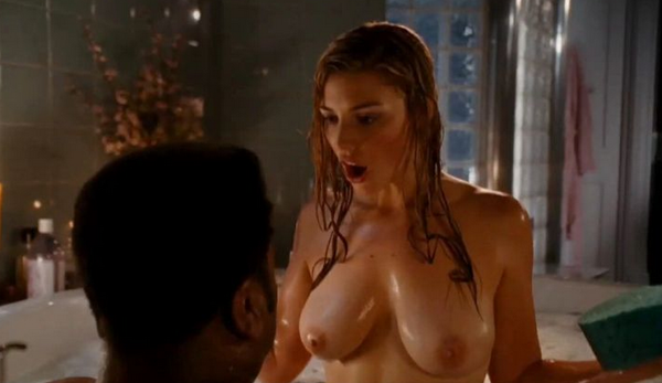 Kaley cuoco sexy scene from the big bang theory